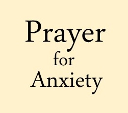 Prayer for Anxiety logo