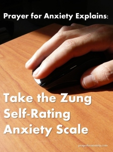 Take the Zung Self-Rating Anxiety Scale
