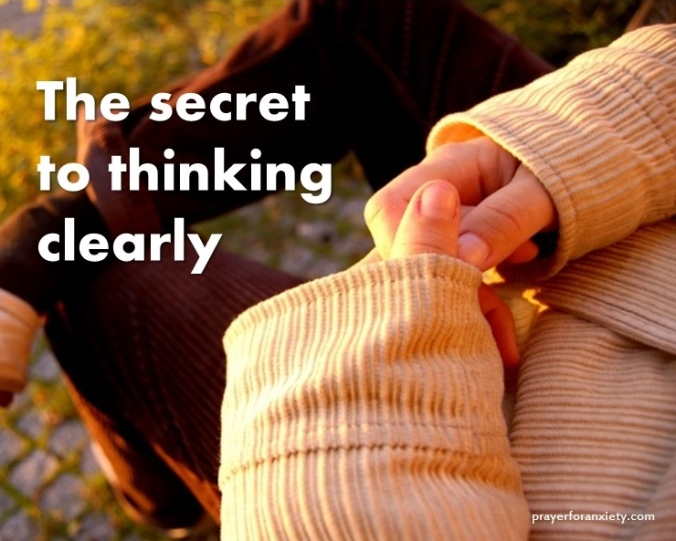The secret to thinking clearly