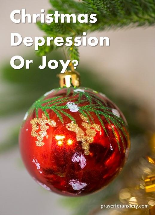 Christmas depression or joy