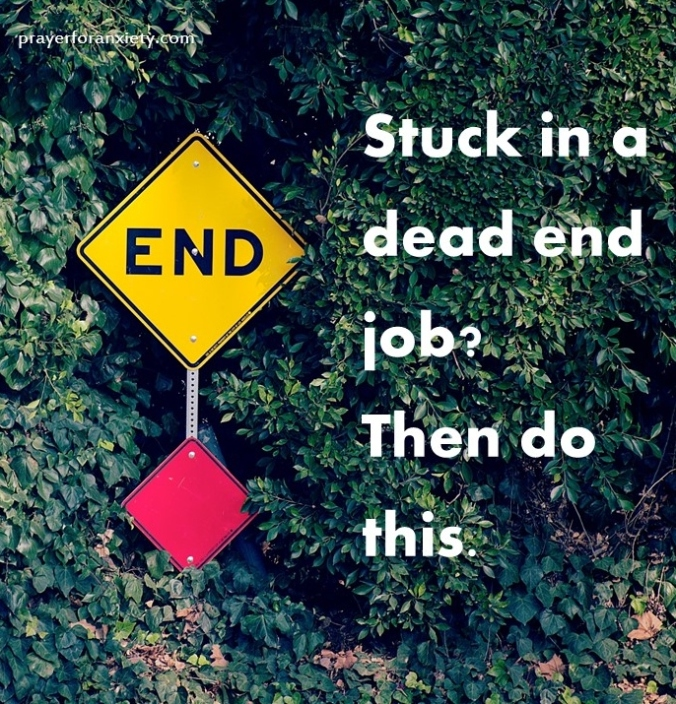Stuck in a dead end job