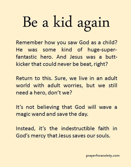 Be a kid again