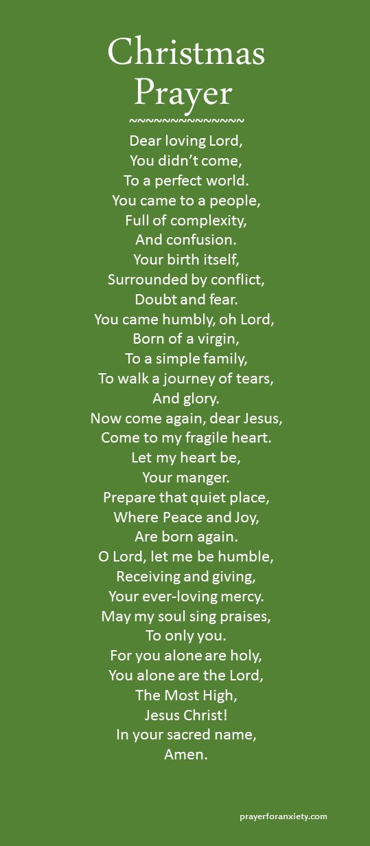 Christmas Prayer