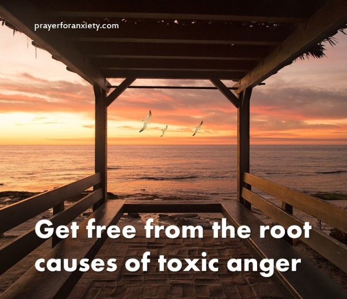 Get free from the root causes of toxic anger