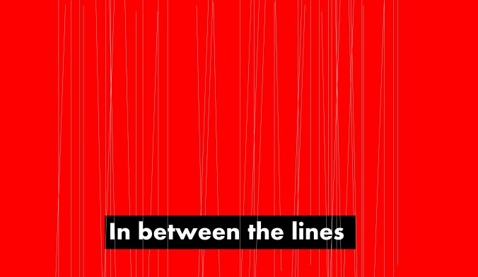 In between the lines title image to depict working between the lines